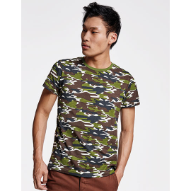Marlo T-Shirt Camouflage Forest